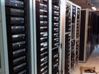 Vista frontal racks